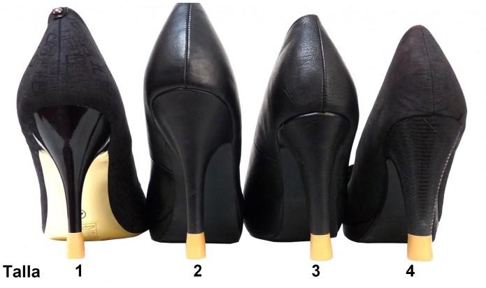 zapatos de tacón alto 4 Pares-4 Tallas- Camel