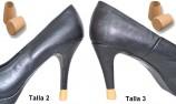 cambiar tacon - protector tacon - tapa tacon - zapatos de fiesta - tacon color