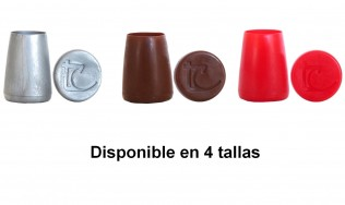 marrón - plata - rojo