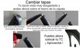 cambiar tacon facilmente - tapa tacon joya - proteger los tacones - sexy tacones