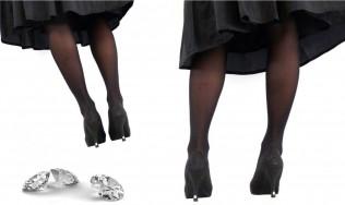 tapa calzado - tacones para zapatos de fiesta - zapatos altos - joya tacon de aguya