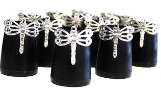 decorar tapas zapatos - talon chic - joya calzado mujer - proteger los tacones - tacones para zapatos de fiesta