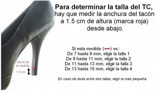 protector de tacon - proteger tacones - tacones altos - tapa tacon - cambiar tapa calzado mujer
