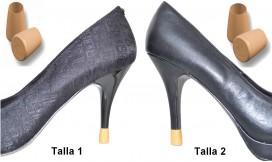 2 PARES - 2 TALLAS - CAMEL