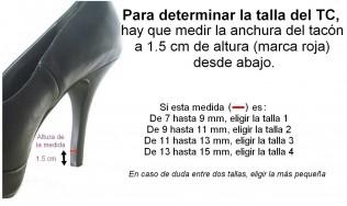 protector de tacon - tapa tacon alto - reparacion calzado mujer - zapatos altos